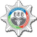 Hereford & Worcester Fire & Rescue Service badge