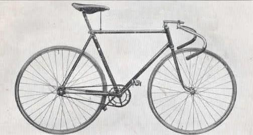 old racing cycle