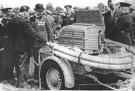 Trailer pump at Civil Defence rally July 1939